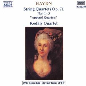 Streichquartette op.71,1-3