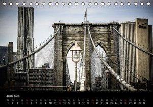 Brooklyn Bridge - New York City (Tischkalender 2016 DIN A5 quer)