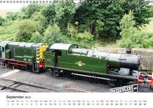 Englands Nostalgic Trains (Wall Calendar 2015 DIN A3 Landscape)