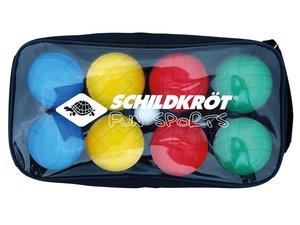 Schildkröt - Fun Boccia Set, 4x2 Boule Kugeln, Durchmesser 7,25