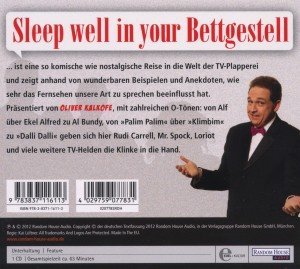 Sleep WelI In Your Bettgestell