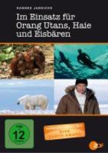 Hannes Jaenicke:Im Einsatz für Orang Utans,Haie u