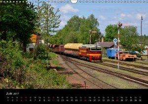 Eisenbahn in Nordböhmen 2017 (Wandkalender 2017 DIN A3 quer)