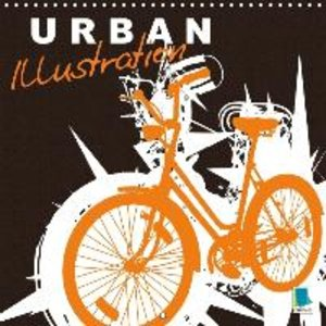 Urban illustration (Wall Calendar 2015 300 × 300 mm Square)