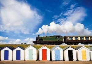 Romantik auf Schienen: Dampflokomotiven (Tischaufsteller DIN A5