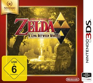 The Legend of Zelda - A Link Between Worlds (Nintendo Selects)