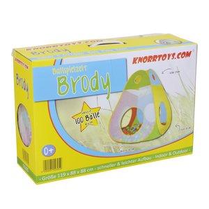 Knorrtoys 55305 - Zelt: Brody mit 100 Bällen