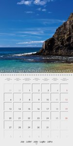 Lanzarote - Island of Volcanoes (Wall Calendar 2015 300 × 300 mm