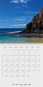 Lanzarote - Island of Volcanoes (Wall Calendar 2015 300 × 300 mm