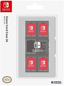 Game Card Case 24, Schutzhülle, NSW, für Nintendo Switch, klar