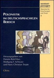 Polonistik im deutschsprachigen Bereich