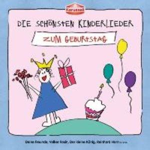 Die Schönsten Kinderlieder-Zum Geburtstag