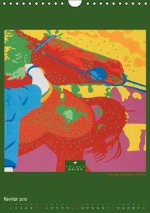 Le Monde des Courses en BD (Calendrier mural 2015 DIN A4 vertica