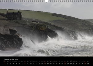 Cornish Land and Sea (Wall Calendar 2015 DIN A3 Landscape)