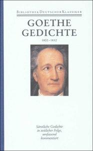 Gedichte 1800 - 1832