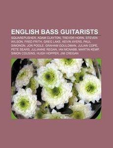 English bass guitarists