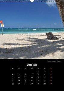 Hawaii - Land of Aloha (Wandkalender 2016 DIN A3 hoch)