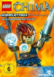 LEGO - Legends of Chima Komplettbox (DVD 1-9)