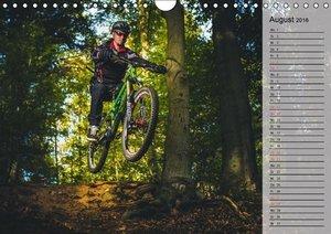 Mountainbike Action (Wandkalender 2016 DIN A4 quer)