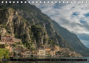 Gardasee - Impressionen aus der Lombardei (Tischkalender 2017 DI