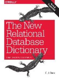 New Relational Database Dictionary, The