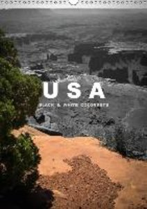 USA - Black & White Colorkeys / UK-Version (Wall Calendar 2015 D