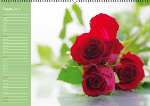 Rose petals calendar Great Britain (Wall Calendar 2015 DIN A2 La