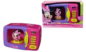 Simba 104735140 - Minnie Mouse: Mikrowelle mit Hühnchen