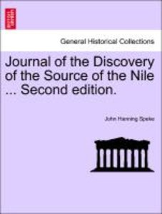 Journal of the Discovery of the Source of the Nile ... Second ed