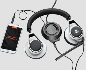 Plantronik RIG SYSTEM Stereo Headset, Kopfhörer mit Mikrofon für