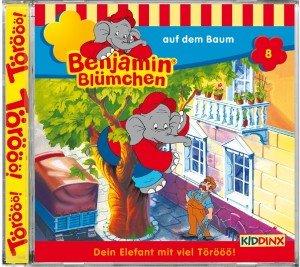 Benjamin Blümchen 008 auf dem Baum