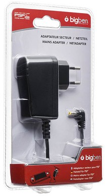 AC ADAPTER (Netzteil/Ladegerät) PSP BigBen - zum Schließen ins Bild klicken