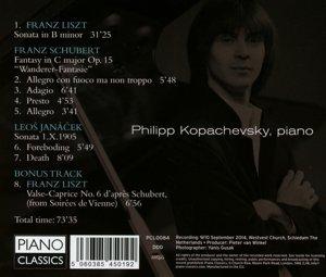 h-moll Sonate/Wanderer-Fantasie/Sonata 1.X.1905