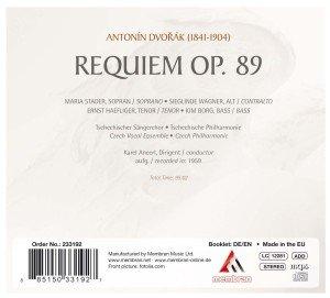 Dvorak: Requiem
