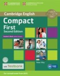 Compact First Student's Book Without Answers with CD-ROM with Te