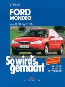 So wird's gemacht. Ford Mondeo von 11/92