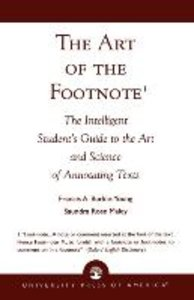 The Art of the Footnote