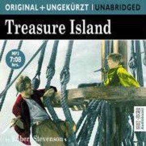 Treasure Island. MP3-CD