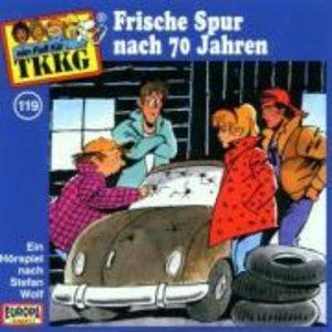 TKKG 119. Frische Spur nach 70 Jahren. CD
