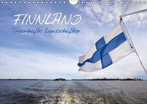 FINNLAND - Traumhafte Landschaften (Wandkalender 2016 DIN A4 que