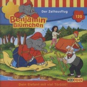 Benjamin Blümchen 120. Der Zeltausflug