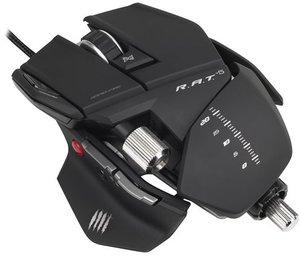 R.A.T. 5 Gaming Maus, 5600 dpi, schwarz-matt