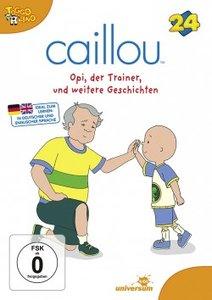 Caillou 24:Opi,der Trainer und weitere Geschichte