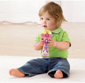 VTech Baby 80-078754 - Singspaß Mikrofon, pink