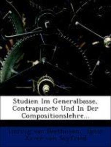 Ludwig van Beethoven's Studien in Generalbasse