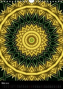 Magic Mandalas (Wandkalender 2016 DIN A4 hoch)