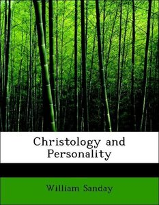 Christology and Personality