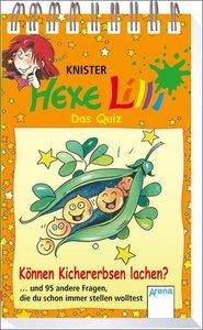 Hexe Lilli - Das Quiz: Können Kichererbsen lachen?