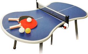 Mini Tischtennis - Platte inkl. Schläger und Bäll