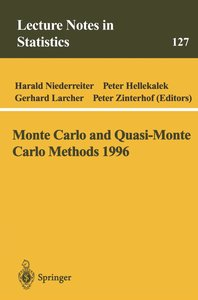 Monte Carlo and Quasi-Monte Carlo Methods 1996